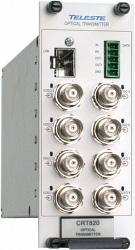 Восьмиканальный передатчик видеосигналов Teleste CRT820