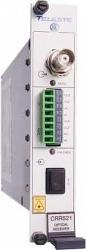 Одноканальный приёмник видео-данных-контактов Teleste CRR521