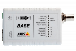 Адаптер AXIS T8640 POE+ OVER COAX ADAP (5026-401)