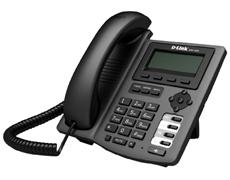 IP-телефон с поддержкой SIP  D-link DPH-150S/F3A