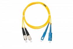 Шнур волоконно-оптический NIKOMAX NMF-PC2S2C2-SCU-FCU-001