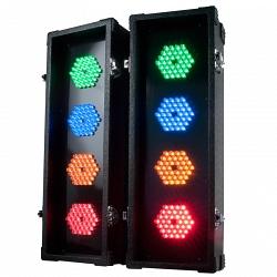 Набор двух 4-рядных светодиодных устройств American DJ Flashback 4