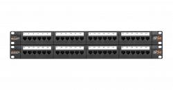 Коммутационная панель NIKOMAX NMC-RP48UD2-2U-BK