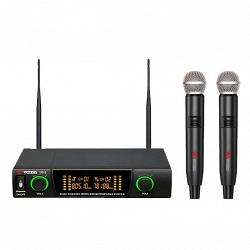 VOLTA US-2 (614.15/710.20) Микрофонная радиосистема с двумя ручными динамическими микрофонами