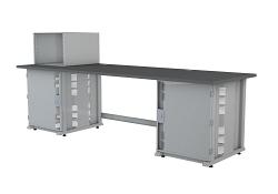 Стол оператора IMLIGHT СТО. 250.80. (2т14U - 1с8U) левый