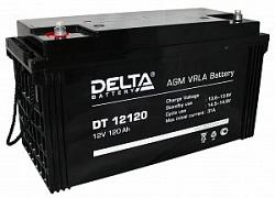 Аккумулятор 12 В, 120 Ач DT 12120 Delta