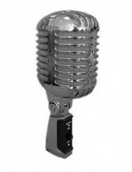 Вокальный динамический микрофон VOLTA VINTAGE SILVER