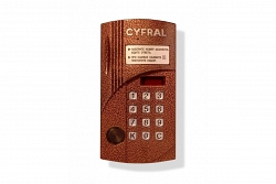 Блок вызова аудиодомофона ЦИФРАЛ CCD-40/TC
