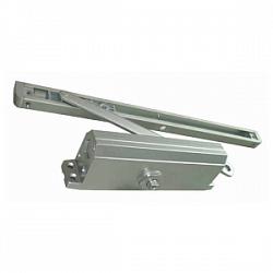 E-604D серебро Доводчик для дверей весом до 100 кг