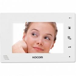 Kocom KCV-A374-4 (белый) Монитор цв.видеодомофона