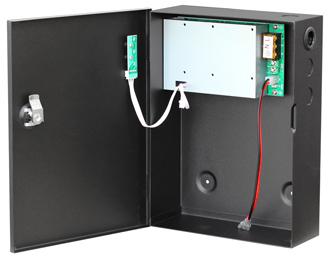 Б.б.п. 12 VDC/ 5 A; 220 VAC; корпус 195х265х90 мм (место для аккумулятора 17 Ач) Smartec ST-PS105D-BK