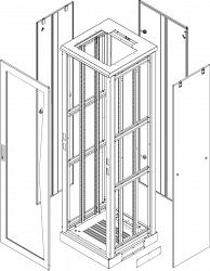 Комплект стенок TLK TFL-2-2460-MM-GY
