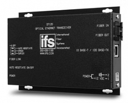 Ethernet-трансивер 10/100Mb по многомодовому оптоволокну IFS D7130WDMA