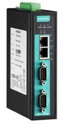 2-портовый асинхронный сервер MOXA NPort IA5250AI-IEX