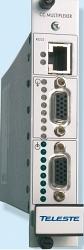Цифровой мультиплексор тревог - 8 каналов, Teleste CRX918