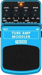 Педаль эффектов Behringer TM 300 TUBE AMP MODELER