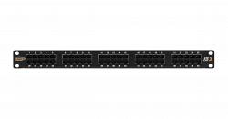 Коммутационная панель NIKOMAX NMC-RP50UC3-1U-BK