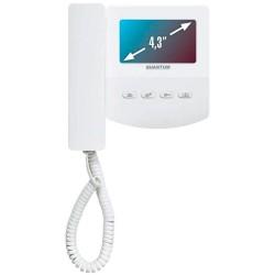 """AccordTecQM-433C–цветной 4-x проводный, 4.3"""" LCD TFT (480x272) видеодомофон"""