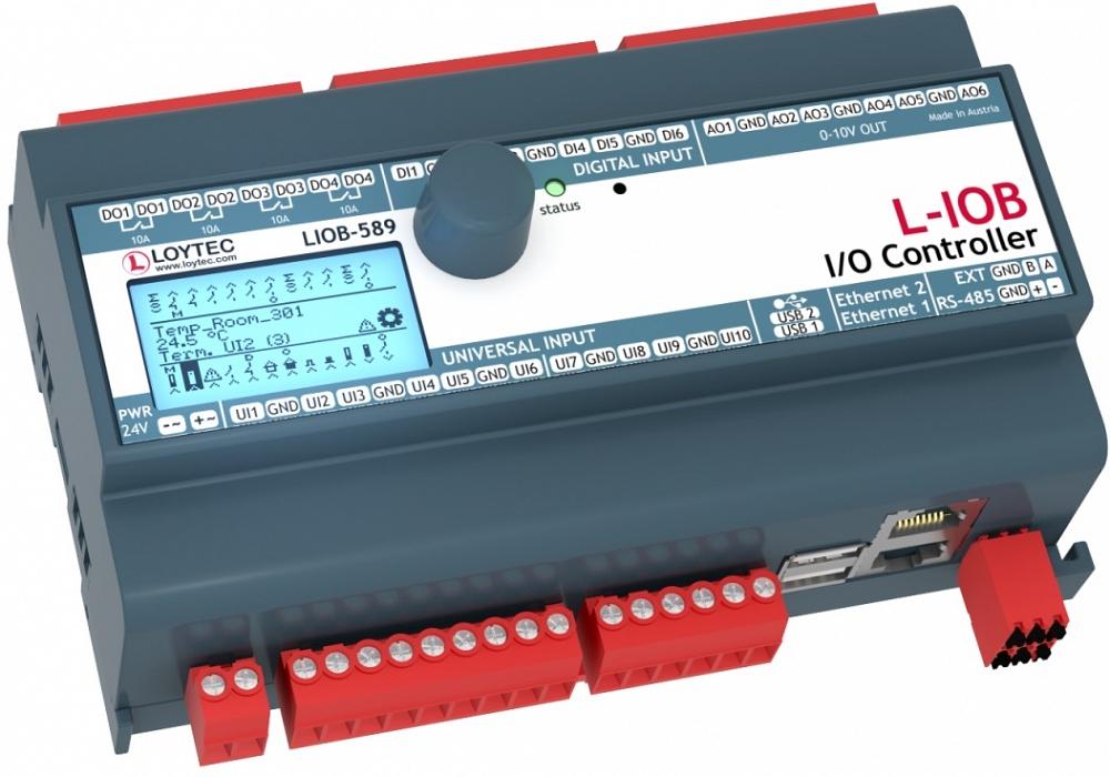 Программируемый контроллер LIOB-589