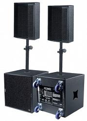 Полнодиапазонный звукоусилительный комплект KS-AUDIO SESSION