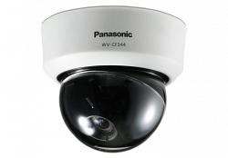 Видеокамера цветная купольная Panasonic WV-CF344E