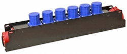 Блок розеток IMLIGHT BRM-6H-CEE3P16-6