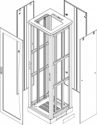 Комплект стенок TLK TFL-2-4760-MM-GY