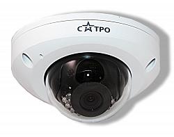 Уличная антивандальная купольная IP видеокамера Сатро САТРО-VC-NDV40F (2,8) (U)