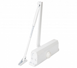 E-604D белый Доводчик для дверей весом до 100 кг