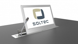 Выдвижной монитор Soltec SRET215F-15