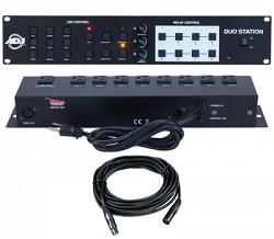 Светодиодный контроллер American Audio Duo Station