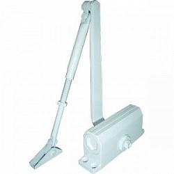 E-602 белый Доводчик для дверей весом до 50 кг