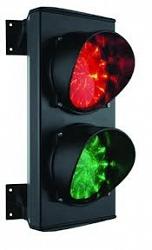 Двухсекционный светофор ламповый ARGO S-1
