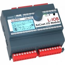 Модуль I/ O BACnet/ IP с физическими входами и выходами LIOB-552