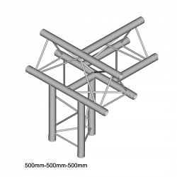 Металлическая конструкция Dura Truss DT 23 T51-TUD   T-joint + up + down