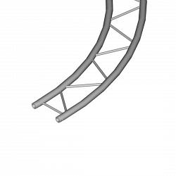 Металлическая конструкция Dura Truss DT 32H Circle 4m 2 parts horiz