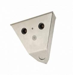 Уличная антивандальная IP видеокамера Mobotix MX-V15D-Sec-D43D43-6MP-F1.8