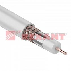 Коаксиальный кабель RG-6U+CU (Rexant 01-2233)
