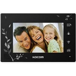 Kocom    KCV-A374SD LE (черный). Монитор цв.видеодомофона