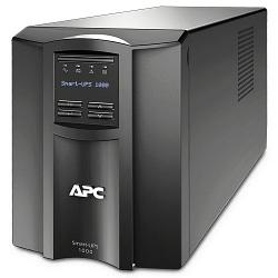Источник бесперебойного питания APC Smart-UPS 1000 ВА с ЖК-индикатором, 230 В SMT1000I