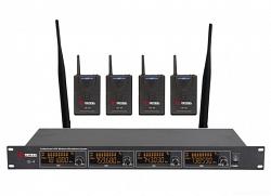 VOLTA US-4H (725.80/622.665/520.10/490.21) Микрофонная радиосистема с четырьмя головными микрофонами