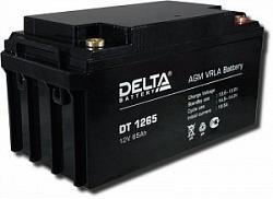 Аккумулятор 12 В, 65 Ач DT 1265 Delta