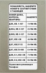 Блок индикации для домофона Модус-Н  БВД-432NP