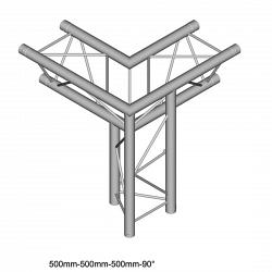 Металлическая конструкция Dura Truss DT 23-C34LD