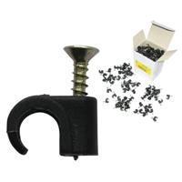 Скобы пластиковые для крепления сенсорного кабеля GEOQUIP GQCL-1