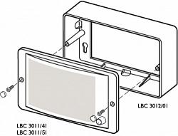 Корпус для монтажа LBC 3011/41 и LBC 3011/51 - BOSCH LBC3012/01