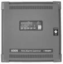 Панель пожарной сигнализации - Simplex 4008-9101