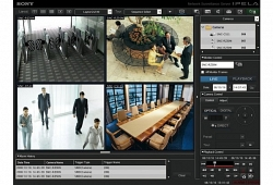 Программное обеспечение MonitoringSoftwareRecorder; 4 канала - Sony IMZ-NS104M