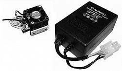 Videotec OHEKVF2EB - вентилятор в комплекте с термостатом и воздушным фильтром 24Vac для HEK серии