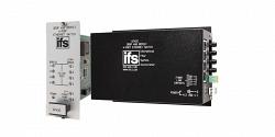 Ethernet-трансивер на 4 порта с повторителем по оптоволокну IFS D7420WDM